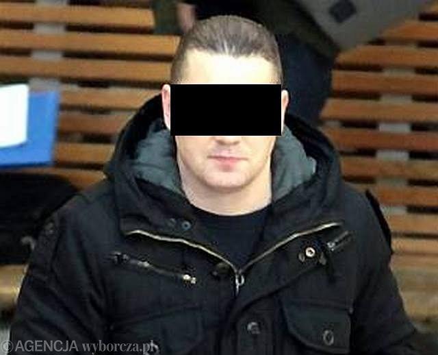 Szwed Anders Hoegstroem, skazany za podżeganie do kradzieży napisu z Auschwitz