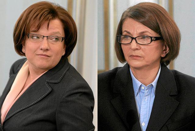 Beata Kempa i Julia Pitera