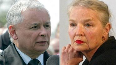 Jarosław Kaczyński i Jadwiga Staniszkis