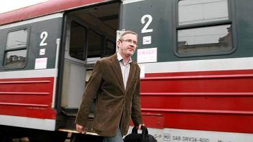 Mirosław Kaczmarek mieszka w Łodzi. Do pracy w Warszawie dojeżdża pociągiem