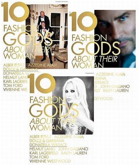 10 bogów mody według 10 Magazine