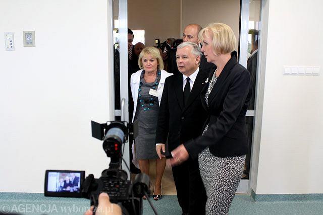 Jarosław Kaczyński w Radomiu