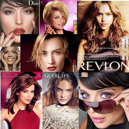 Gwiazdy w reklamach kosmetyków