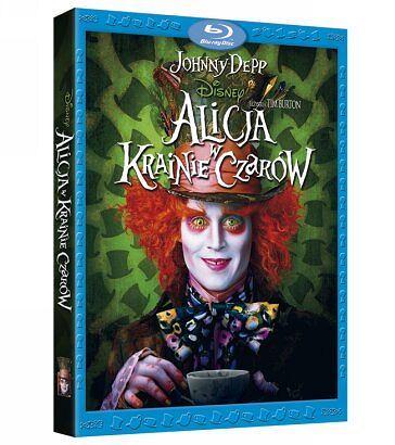 Alicja w Krainie Czarów na Blu-ray