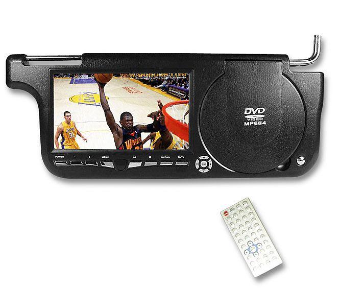 DVD Sunvisor DVD Player