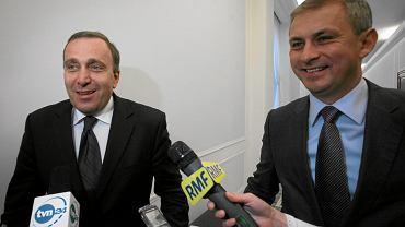 Grzegorz Schetyna i Grzegorz Napieralski