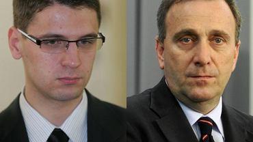 Mariusz Kamiński i Grzegorz Schetyna