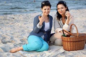 Zdjęcia z planu serialu M jak miłość.