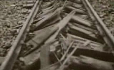 Zniszczone tory