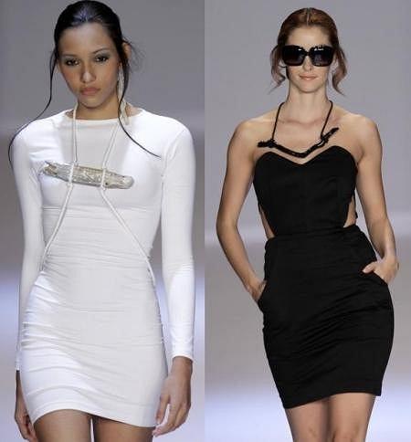Mała biała i mała czarna Paola Thompso