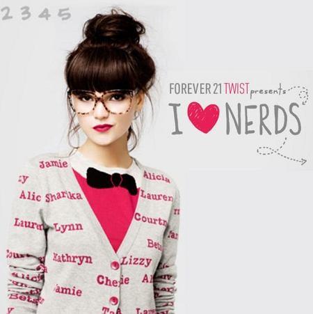 Lookbook Forever21 - I love NERD