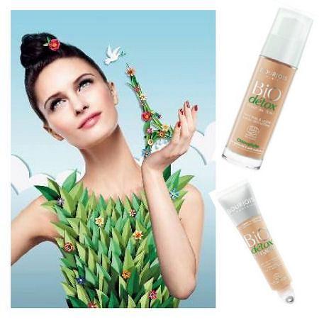 Organiczne kosmetyki do makijażu Bourjois