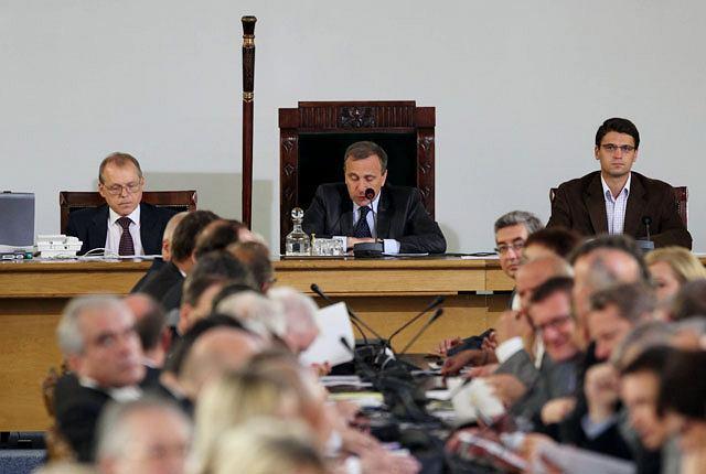 Posiedzenie Sejmu w Sali Kolumnowej