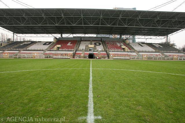 Stadion Polonii Warszawa przy ul. Konwiktorskiej