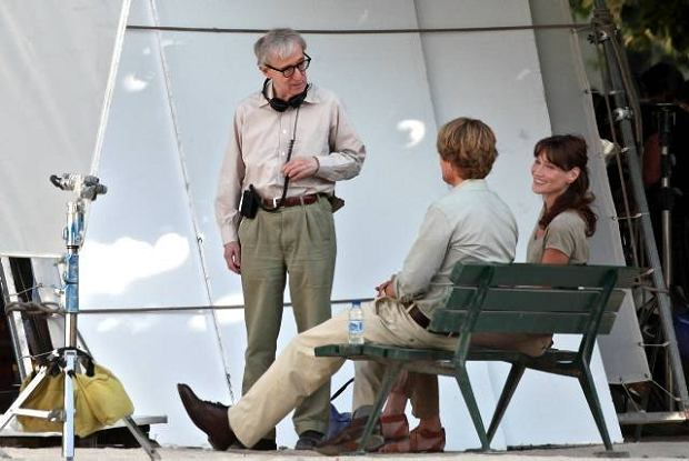 carla bruni, woody allen, midnight in paris, csi, nicolas sarkozy