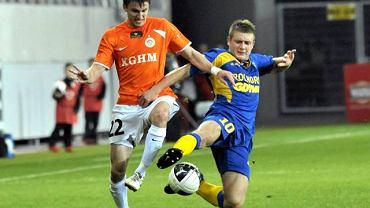 Marcin Budziński z prawej