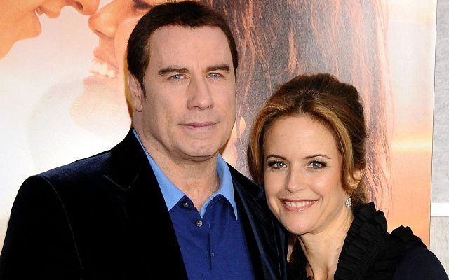 John Travolta z żoną Kelly Preston.
