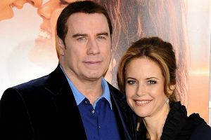John Travolta z żoną Kelly Preston.