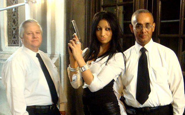 Jola Rutowicz znów nas zaskakuje. Tym razem pojawiła się w asyście ochroniarzy na jednej z imprez.