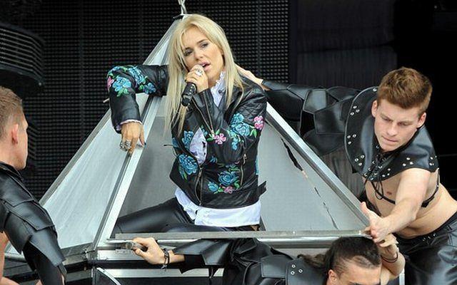 Już dzisiaj Doda wystąpi na festiwalu w Opolu. Zapowiadała mega show. Podczas prób można było zobaczyć przedsmak.