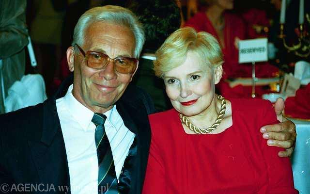 Jan Suzin i Edyta Wojtczak