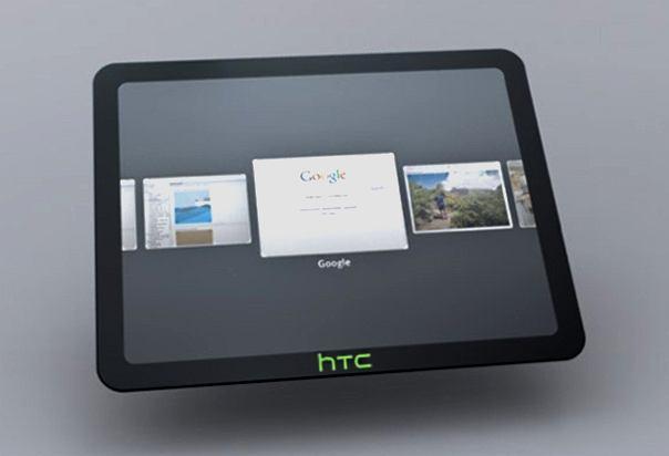 Model koncepcyjny tabletu HTC