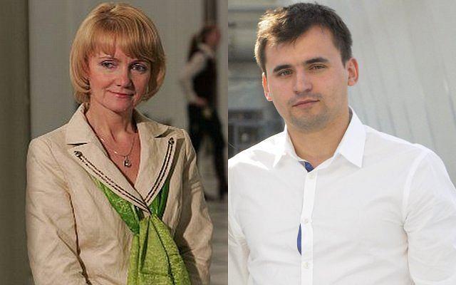 Jolanta Szczypińska i Marcin Dubieniecki