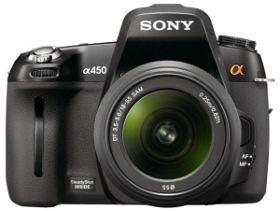 Lustrzanka cyfrowa Sony DSLR-A450