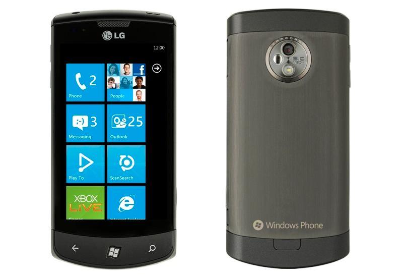 LG Swift 7 z Windows Phone 7