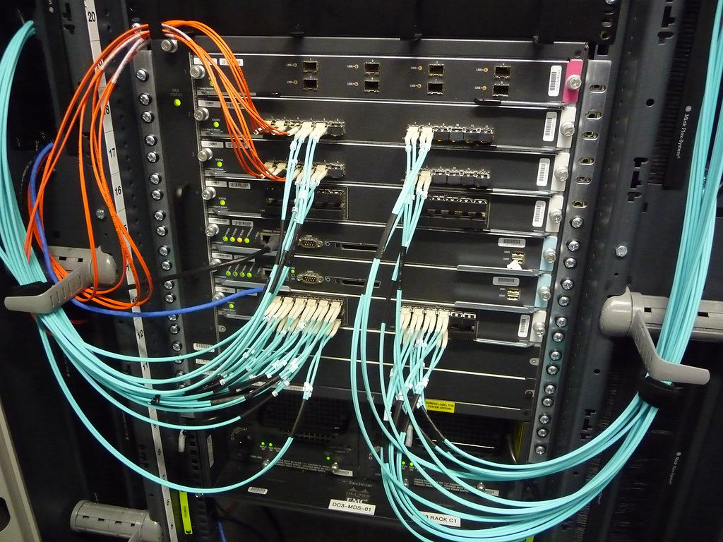 Przełącznik sieciowy Cisco MDS.