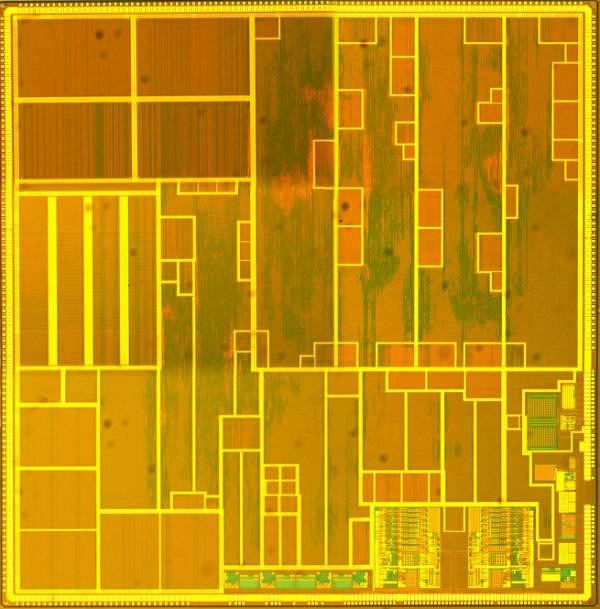 Obraz mikrochipu van de Burgwala