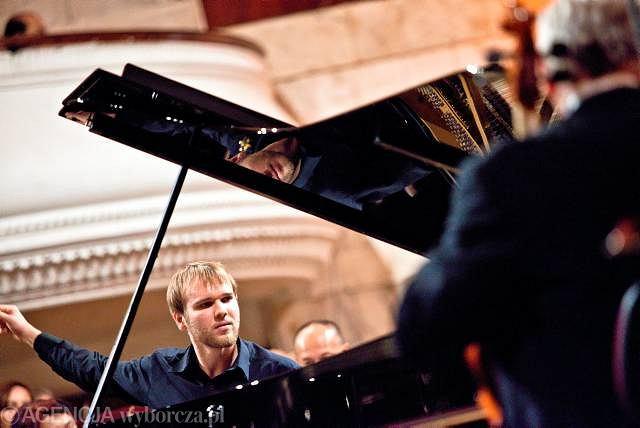 Paweł Wakarecy podczas swojego koncertu w finale Konkursu Chopinowskiego, 18 października.