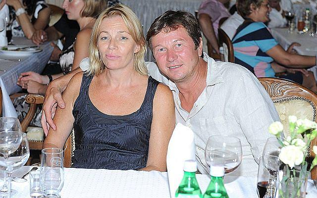 Piotr Cyrus i Maja Barełkowska
