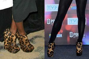 Kelly Rowland w takich samych butach jak Doda.