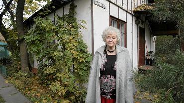 Marianna Kamińska od 34 lat mieszka w fińskim domku na Polu Mokotowskim