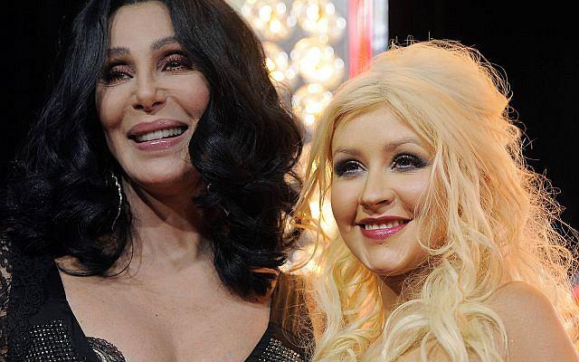 Cher i Christina Aguilera pojawiły się na premierze filmu