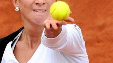 """Jest i polski akcent. Marta Domachowska, zwyciężczyni turnieju WTA w grze podwójnej, reprezentantka kraju w Pucharze Federacji, półfinalistka juniorskich imprez wielkoszlemowych, French Open 2002 i Australian Open 2003; była """"pierwsza rakieta"""" Polski"""