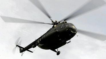 Śmigłowiec Mi-8 w wersji wojskowej