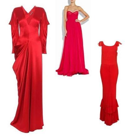 2596bd9e 10 czerwonych sukienek na Sylwestra