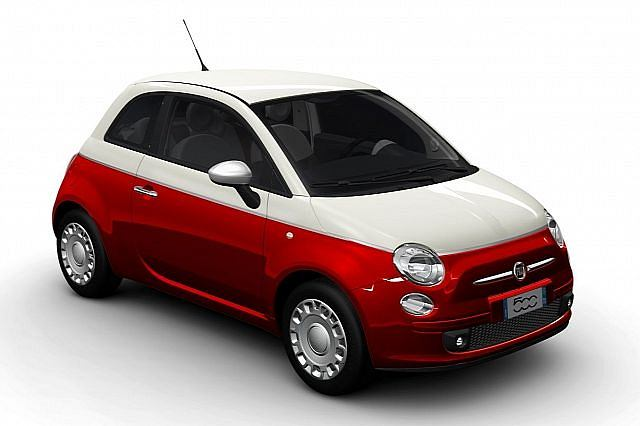 Fiat 500 Bicolore