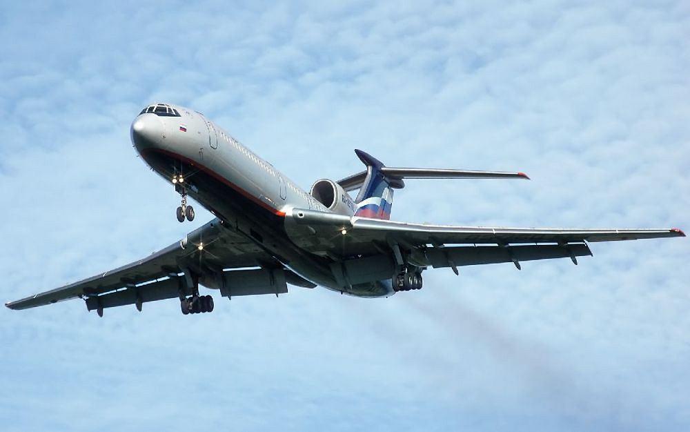 Samolot Tu 154
