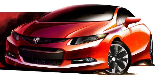 Honda Civic IX gen. - pierwszy szkic