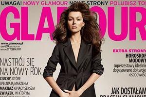 Paulina Papierska na okładce Glamour