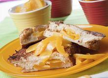 Brzoskwiniowe tosty francuskie - ugotuj