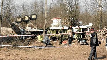 11 kwietnia 2010. Smoleńsk. Rozbity prezydencki samolot Tu-154