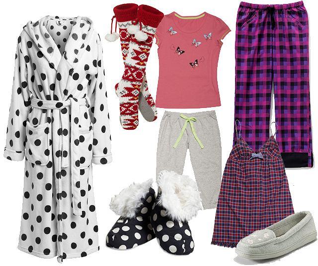 Nowy Rok w piżamie