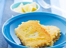 Kostki rybne z czosnkiem w serowej panierce - ugotuj