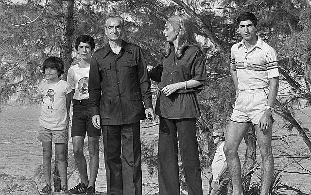Rodzina ostatniego szacha Iranu