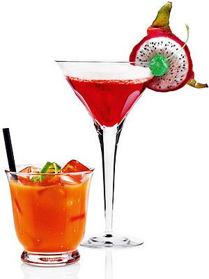 drinki Punisher i Cherry colada