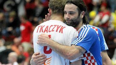 Grzegorz Tkaczyk i Ivano Balic